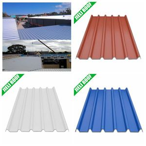 Asa PVC Colorfast Plastic Roofing for Chemical Workshops pictures & photos