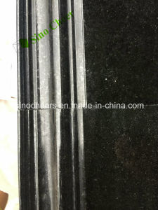 Premium Natural Black Galaxy Granite Slab Cheap Price pictures & photos