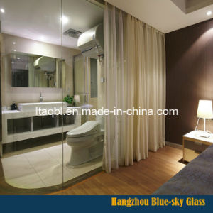 Shower Room Partition Glass with Hydrophobic Coating