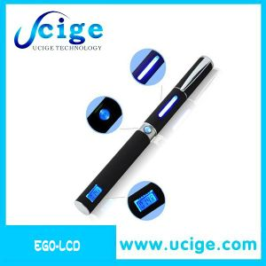 Popular E Cigarette EGO W LCD with LED Clearomizer