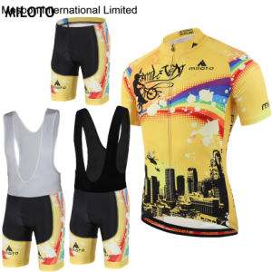 New Summer Mens Bike Wear MTB Bicycle Jersey with Bib Shorts pictures & photos
