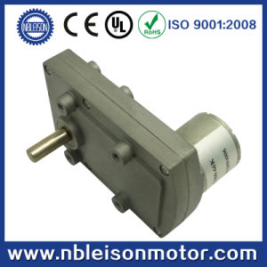 24V DC Gear Motor, High Torque, Low Speed, for Household Appliance, pictures & photos