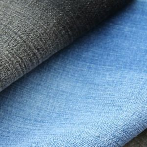100% Cotton Stock Denim Fabric for Jeans pictures & photos
