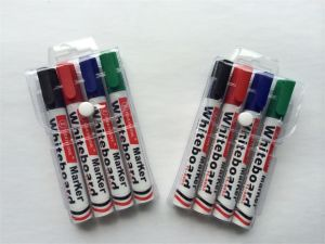 4PCS PVC Bag Packing Whiteboard Marker Pen Set