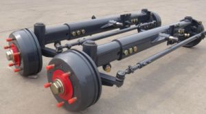 Trailer Steering Axle with Square Beam pictures & photos