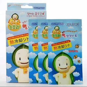 Cold Pack Headache Ice Reducing Fever Cooling Gel Patch (XMCP015)