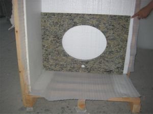 Prefab Polished Natural Granite Stone Countertop for Bathroom, Kitchen