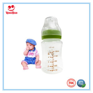 8oz Wide Neck PP Milk Feeding Bottle for Baby pictures & photos