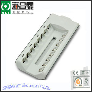 8 Slot AA/AAA Battery Charger (UL and CE)