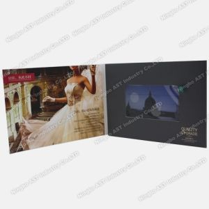 Video Invitation Card, Video Advertising Card, Video Booklet (S-1306C) pictures & photos