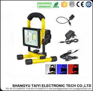 LED Portable Work Light Emergency Light Rechargeable LED Floodlight with USB pictures & photos