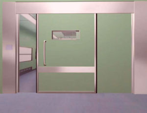 Hospital X-ray Room Automatic Hermetic Sliding Door pictures & photos