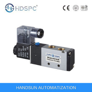 4V210-08 Pneumatic Directional Solenoid Valve pictures & photos