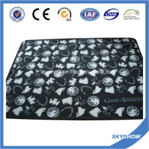 Coral Fleece Printed Blanket (SSB0189) pictures & photos