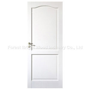 2 Panel Interior Residential Wooden Doors with Arch Top pictures & photos