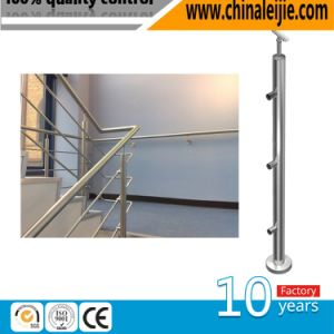 Modern Indoor Stainless Steel Handrail Bracket 48.3 Design for Steps pictures & photos
