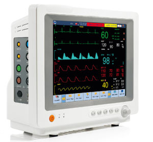 12.1inch Touchscreen Animal Vet ECG EKG Veterinary Monitor with FDA (V-C80)
