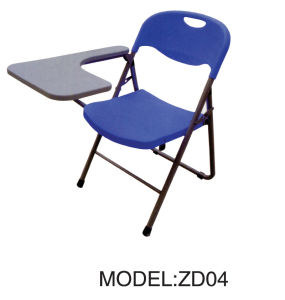 Plastic Folding Chairs, Folding Training Chair, Folding Chair With Tablet  (ZD04)
