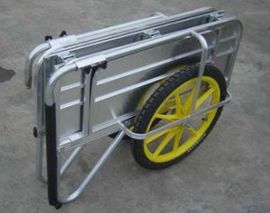 Tc2023D Aluminum Folding Garden Tool Cart Trolley pictures & photos