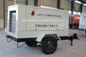 Portable Mobile Air Screw Compressor