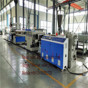 Hot Sales PVC Floor Board Machine Indoor 2017 Most Stable Perfect After Sales Service