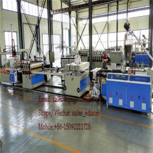 PVC Thin Crust Foam Board Machine PVC Celuka Adverting Board Machine