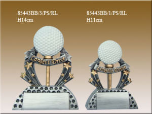 Resin Golf Trophy (85443BB)
