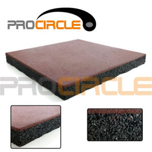 Crossfit Dual Density Rubber Gym Flooring Rubber Tiles (PC-FT1029) pictures & photos
