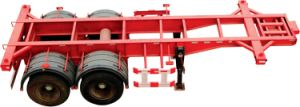 Best-Selling 2 Axle 20FT Container Semi Trailer pictures & photos