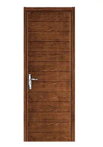 Hot Sale High Quality Solid Wooden Door with Fashion Design Sw-873 pictures & photos