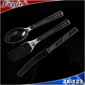 OEM Customized Plastic Cutlery Set (Spoon, Fork, Knife) pictures & photos