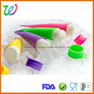 FDA LFGB Approved Factory Novelty Food Grade Silicone Ice Pop Mold pictures & photos