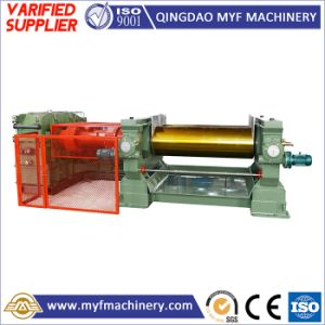 Labor Saving Xk660 26inch Rubber Compound Two Roll Open Mixing Mill Machine for Shoe Plant