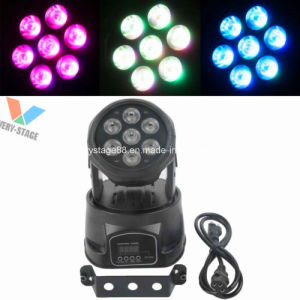 7X12W 5 In1 LED Mini Moving Head LED Wash Light Stage Lighting pictures & photos