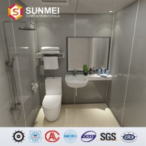 China Quick Installation Modular Bathroom With Toilet For Cruise
