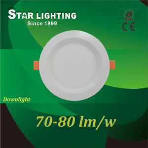 12W LED Downlight with PC and Aluminum Material
