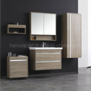 Sanitary Ware Bathroom Basin Accessories Cabinet Solid Wood Furniture Pvc Mdf With Mirror Stainless Steel Vanity 32