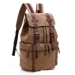 9302af6650 Hot Casual Men Canvas Travel Backpack Men′s Vintage Student School Bag Big  Laptop Rucksack