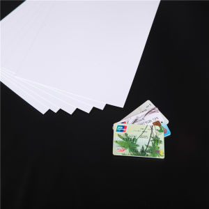 Middle Layer White Rigid PVC Core Sheet for Bank Card pictures & photos