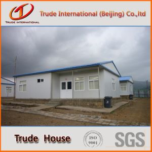 Economic Light Steel Frame Sandwich Panel Mobile/Modular Building/Prefabricated/Prefab Camp Hall pictures & photos