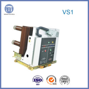 1600A 12kv Vs1 DC Vacuum Breaker with Assembly Pole