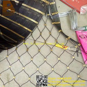 Stainless Steel Wire Rope Mesh for Anti Theft Bag pictures & photos