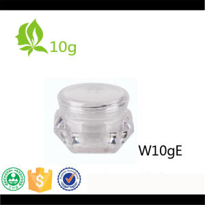 10g Cream Jar Diamond Shape Cream Jar for Cosmetic Packaging pictures & photos