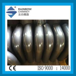 Ce Carbon Steel Circular Bend with Door Chimney