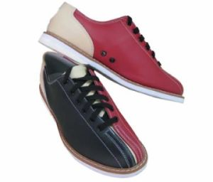 PU Material Bowling Shoes pictures & photos