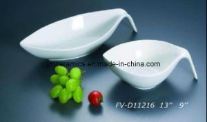 Porcelain Soup Bowl with Ear (FV-D11216)