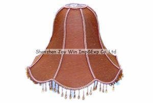 Bell Shape Lamp Shade, Fabric Lamp Cover, Tassels Lamp Shades