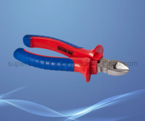 Insulation Nickel Plated Side Cutting Pliers (511301) pictures & photos