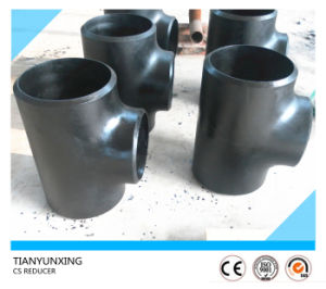 A234 Wpb Bw Carbon Steel Seamless Pipe Equal Tee pictures & photos