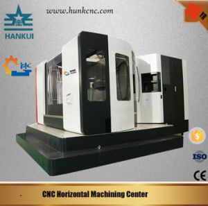 CNC Horizontal Milling Machining Center H80 with Siemens 808d Control pictures & photos